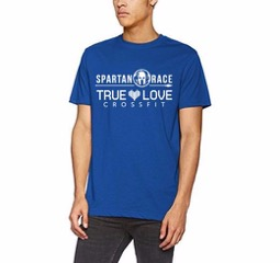 camiseta spartan true love crossfit