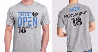 camiseta open true love crossfit