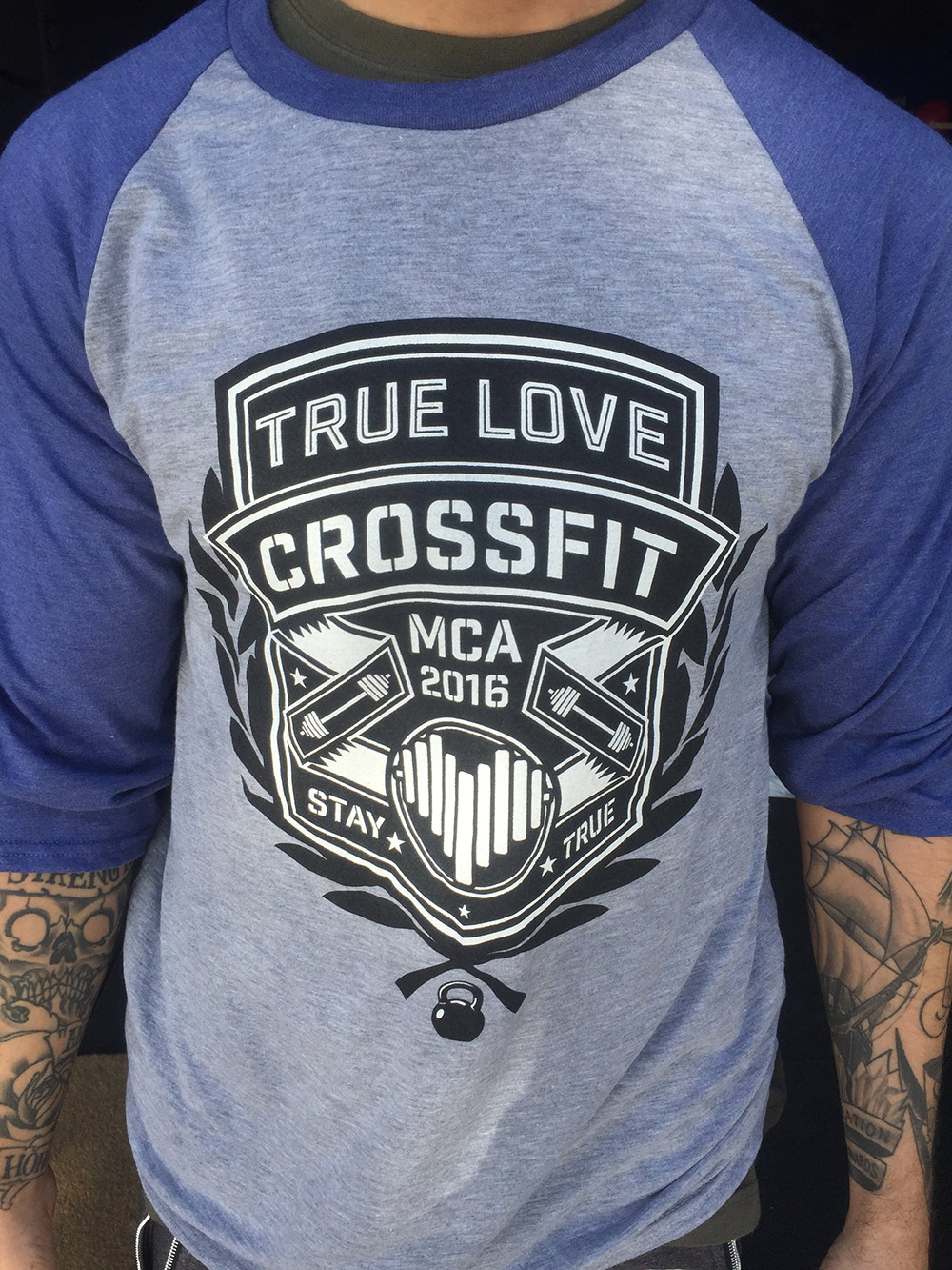 Camiseta Truelove Crossfit MCA 2016 Stay True